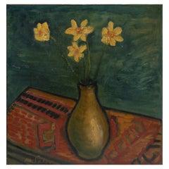 Eugéne De Sala, Composition Vase with Flowers