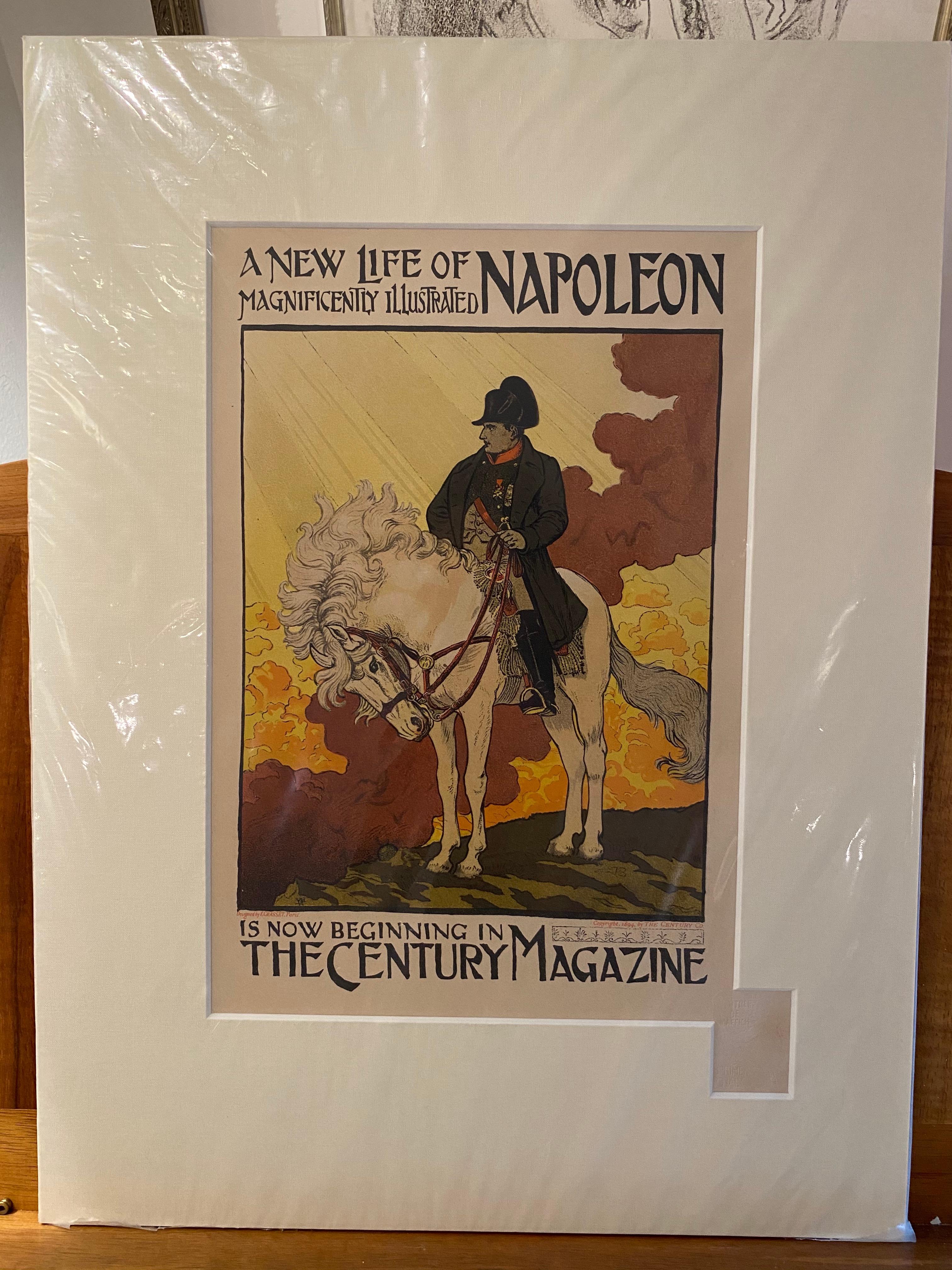 """""""Napoleon"""" from """"Les Maitres de L'Affiche"""" series"""