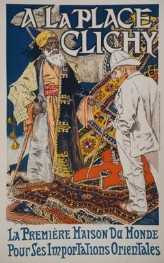 Orientalism - Original Lithograph (Les Maîtres de l'Affiche), 1895