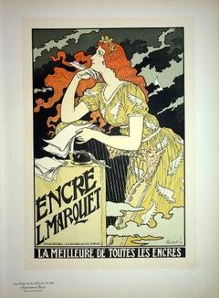 The Inspiration of the Poetess - Lithograph (Les Maîtres de l'Affiche), 1899