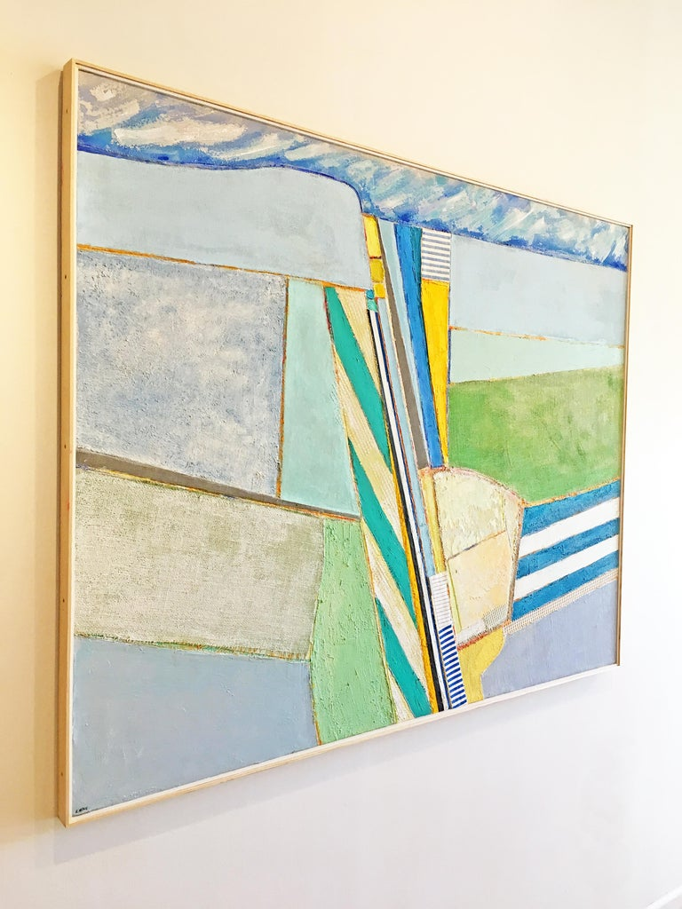 Stonington - Abstract Painting by Eugene Healy