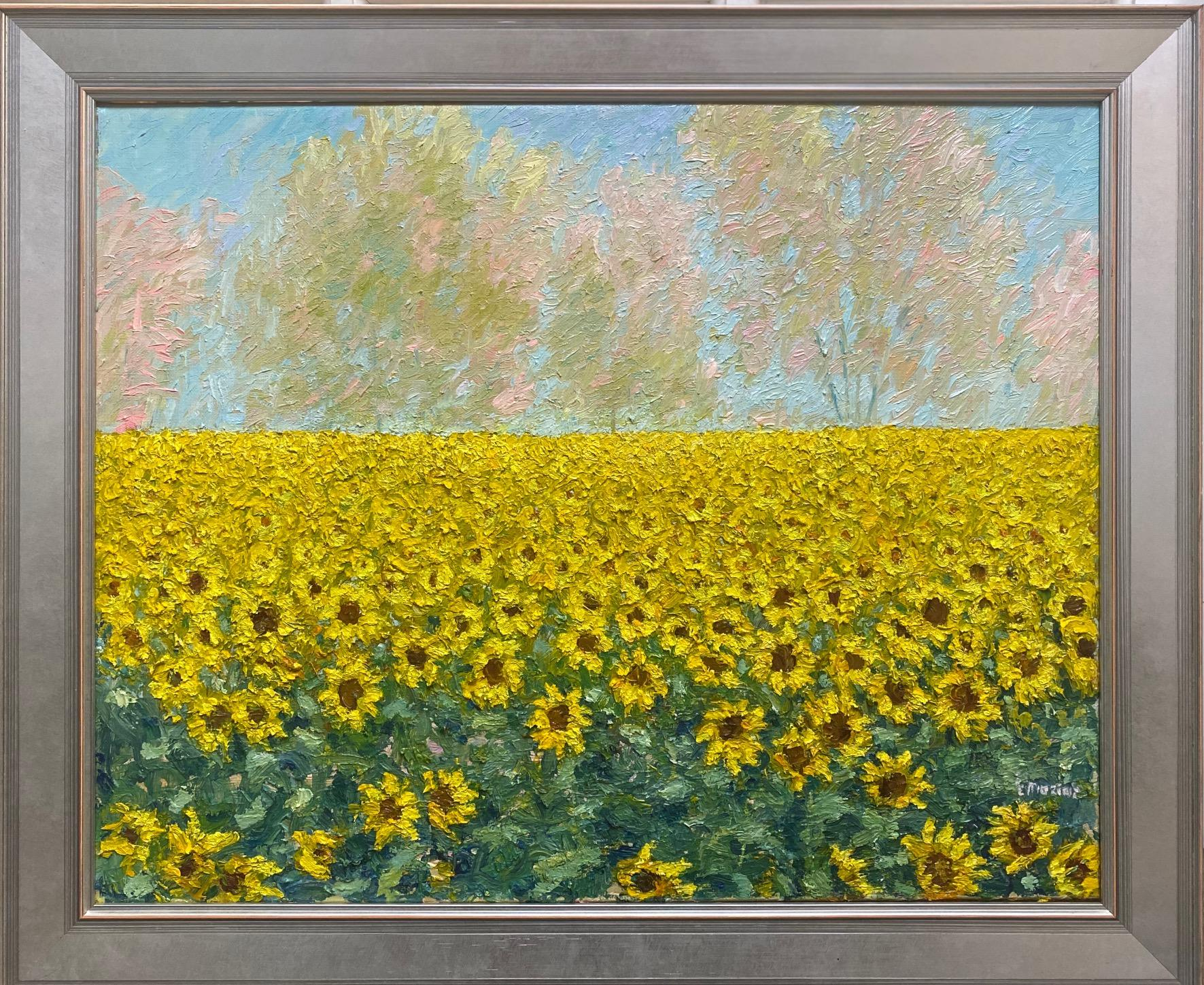 Abundance, original contemporary expressionist landscape