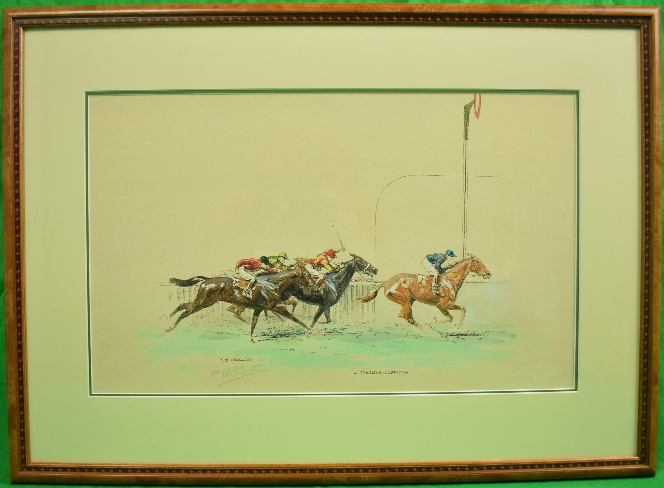 """Maisons-Laffitte"" Eugene Pechaubes (1890-1967)"