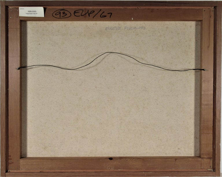 Transformed box #2 - Black Still-Life Painting by Eugene Pizzuto