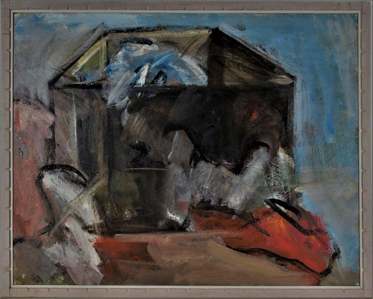 Eugene Pizzuto Still-Life Painting - Transformed box #2