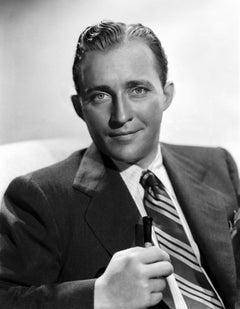 Bing Crosby Stunning Portrait in the Studio Movie Star News Fine Art Print