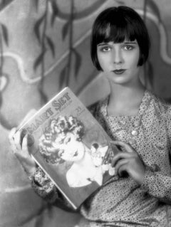Louise Brooks Reading Catalog Fine Art Print