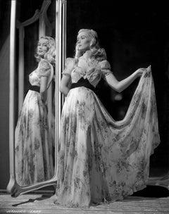 Veronica Lake in Mirror Fine Art Print