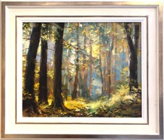 Oil Painting 'Autumn Morning Light' by Eugene Segal