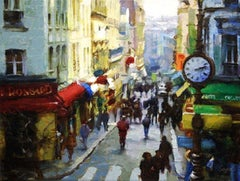 """City Life"" Signed, Limited Edition Giclee on Canvas, 34/50"