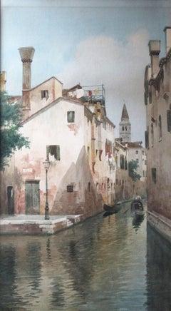 Scene Along a Venice Canal