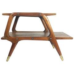 Eugenio Escudero Midcentury Telephone Table, 1950s