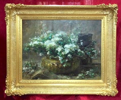 Bunch of Flowers - Original painting 19th Century