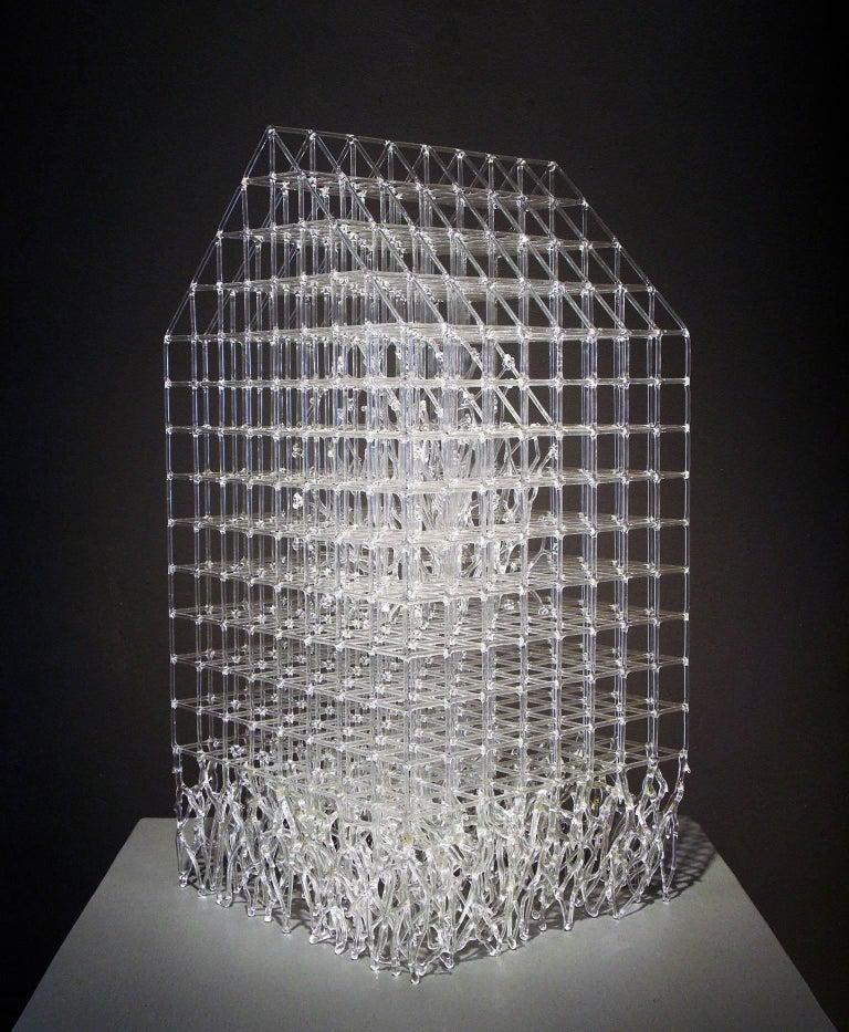 House Barrier VII - Contemporary Sculpture by Eunsuh Choi