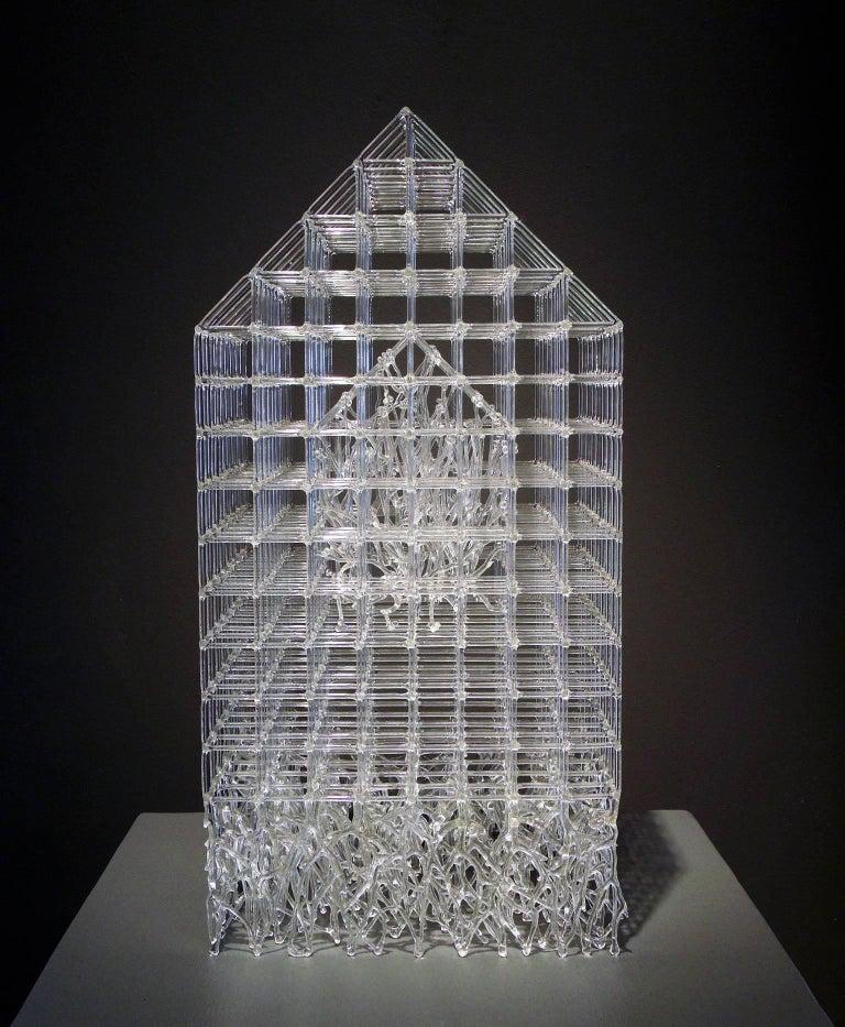 House Barrier VII - Sculpture by Eunsuh Choi