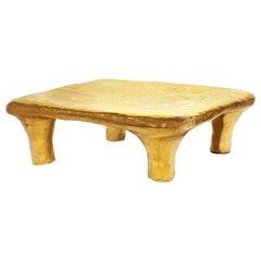 Euphoria Coffee Table in Brass by Scarlet Splendour