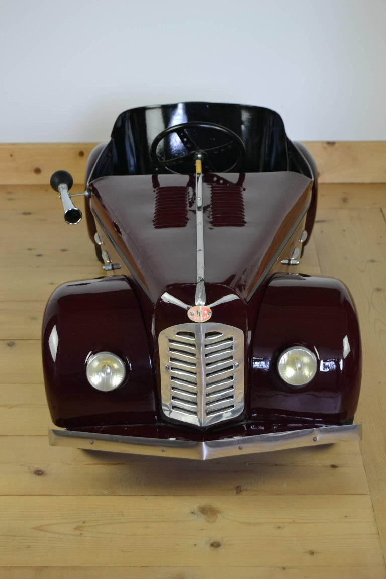 Euréka Pedal Car Model Delahaye, France, 1950s In Good Condition For Sale In Antwerp, BE