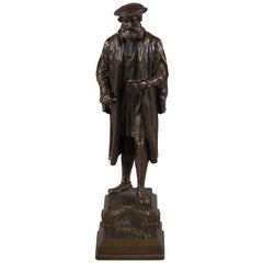 European Bronze Figure of Hans Sachs, by Andor Ruff