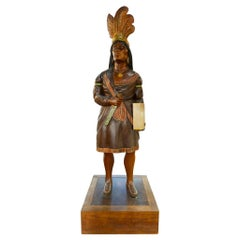 European Cigar Store Indian