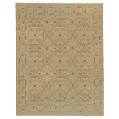 European Design Collection Tan Spanish Inspired Area Rug