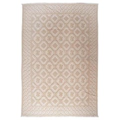 European Design Rug in Beige and Taupe