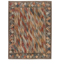 European Inspired Aubusson Rug
