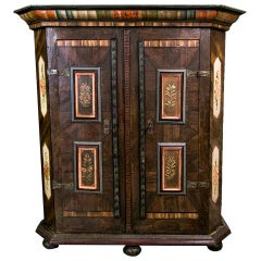 European Painted Armoire