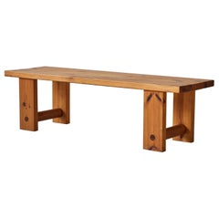 European Pine Bench