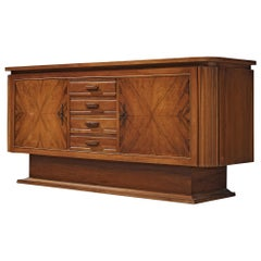 European Sideboard in Walnut, 1950s