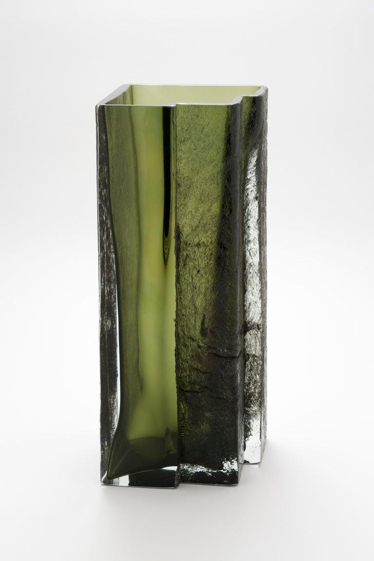 Italian Eurytmia Vase by Paolo Marcolongo For Sale