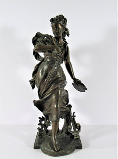 Terpsichore Woman with Tambourine