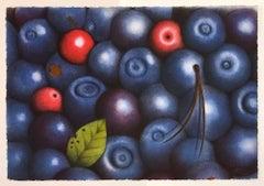 Blueberries, by Eva Bostrom