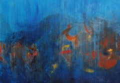 BLUE WORLD, Painting, Oil on Canvas