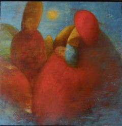Christmas Opus 6, Painting, Oil on Canvas