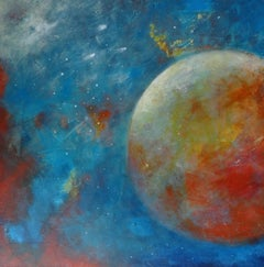 Galaxy, Painting, Oil on Canvas