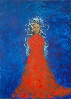 GIRL, Painting, Oil on Canvas