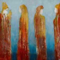 Hera, Aphrodite, Eris, Athene, Painting, Oil on Canvas