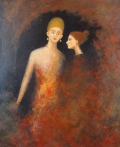 Secret, Painting, Oil on Canvas
