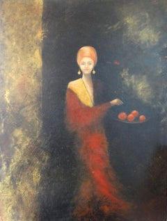 Seduction, Painting, Oil on Canvas