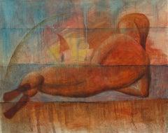 Sunbath, Painting, Oil on Canvas