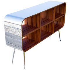 Eva IV Shelf multifunktionale Retro-futuristisch gestaltete Regale
