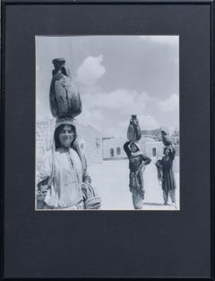 Mid Century -- 'The Water Carriers, Palestine'