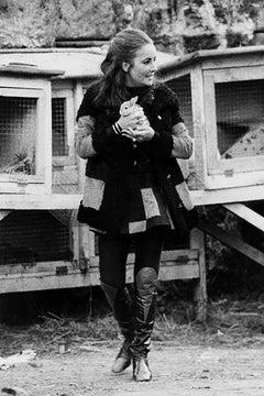 Elizabeth Taylor, 1972 (Eva Sereny - Black and White Photography)
