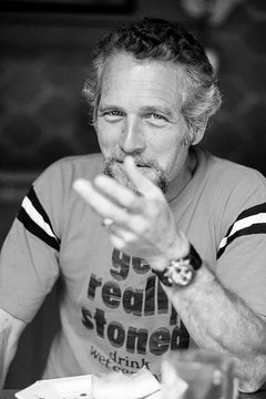 Paul Newman, 1981 (Eva Sereny - Black and White Photography)