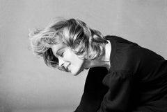Romy Schneider, 1971 (Eva Sereny - Black and White Photography)