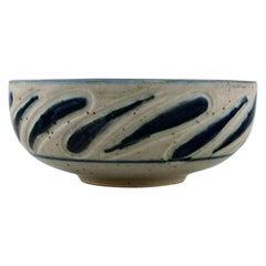 Eva Stæhr-Nielsen for Royal Copenhagen, Bowl in Glazed Ceramics, circa 1970