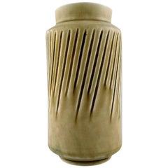 Eva Stæhr-Nielsen for Saxbo Large Stoneware Vase in Modern Design