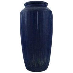 Eva Stæhr-nielsen for Saxbo, Large Vase in Glazed Ceramics, 1940s-1950s