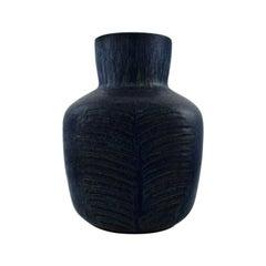 Eva Stæhr-Nielsen for Saxbo, Large Vase of Stoneware in Modern Design