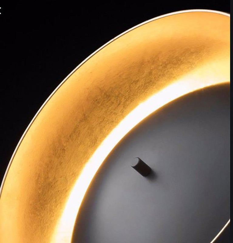 Eva Table Lamp by Francesca Borelli for Oluce In New Condition For Sale In New York, NY